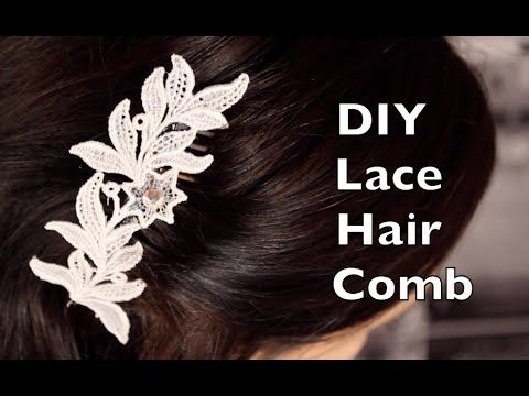 Mother of Pearl Flower Bridal Hair Comb - AA-S2200M - YouTube
