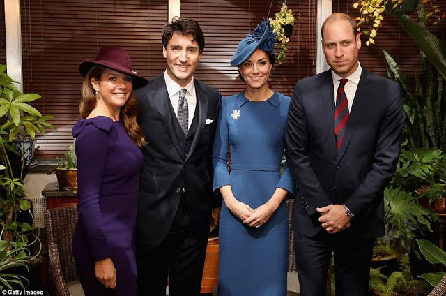 Prince Wiliam and Princess Catherine in Canada.  Day 1