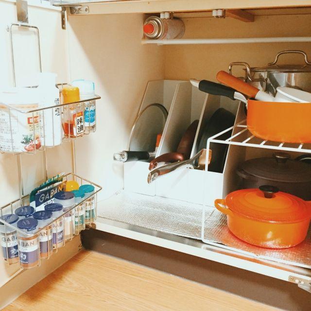 mamiさんの、団地キッチン,キッチン収納,無印良品,団地部,団地,ファイルボックス収納,キッチン,のお部屋写真