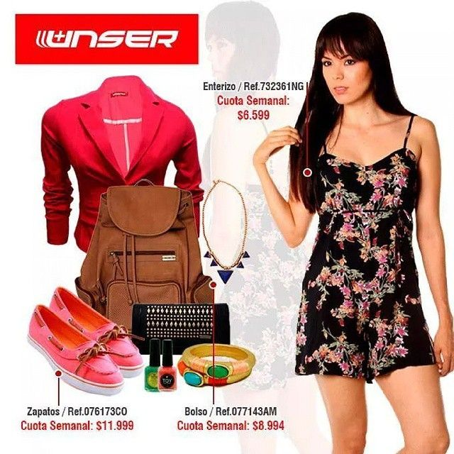 No puedes descartar un vestido como look universitario #Mujer #latina #fashion #women #model #moda #dress #flores #jacket #red #shoes #bag #accesory #accesorio #bucaramanga #cccuartaetapa Unser