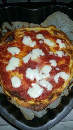 Pizza di quark 4 ingredienti