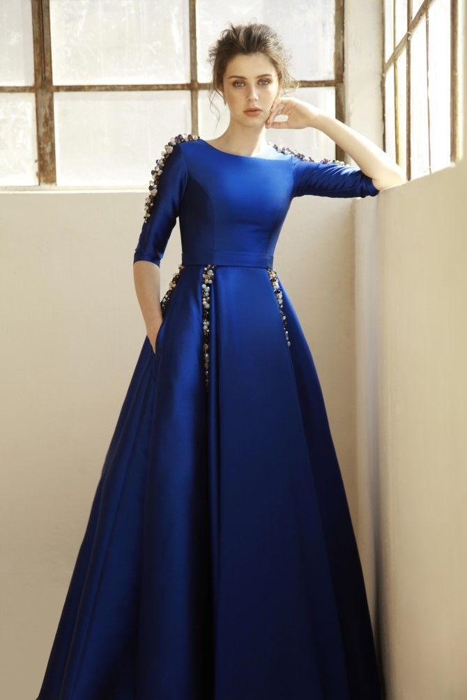 Best 25 Royal Blue Gown Ideas On Pinterest Blue Gown