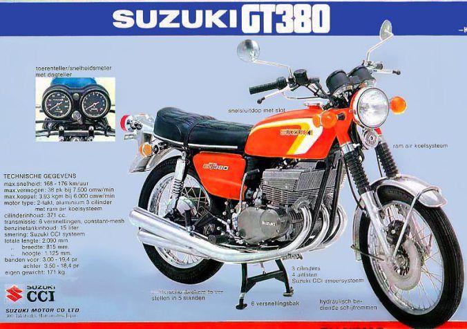 1973 Suzuki GT380K Sebring