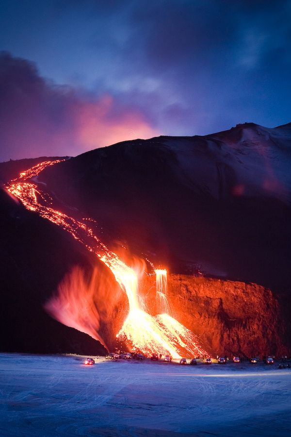 """r2–d2: """" Lava from Volcano in Iceland """""""