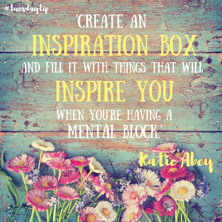 Katie Abey gives us a tip for staying inspired! #TuesdayTip #illustration #typography #lettering #illustrator #design
