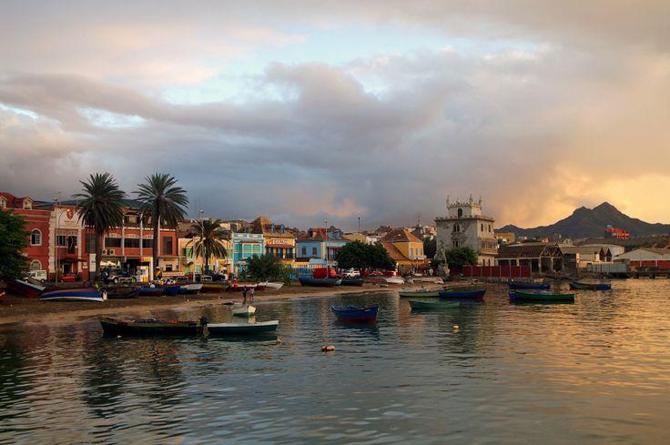 Mindelo Cape Verde | Mindelo after a rain shower,extremly rare in Cape Verde