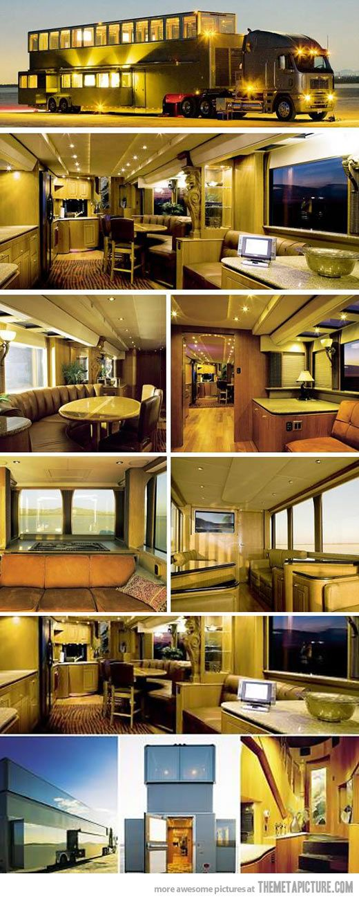 Pure Luxury... I wouldnt need a house, just go traveling around the Nation for the rest of my life.