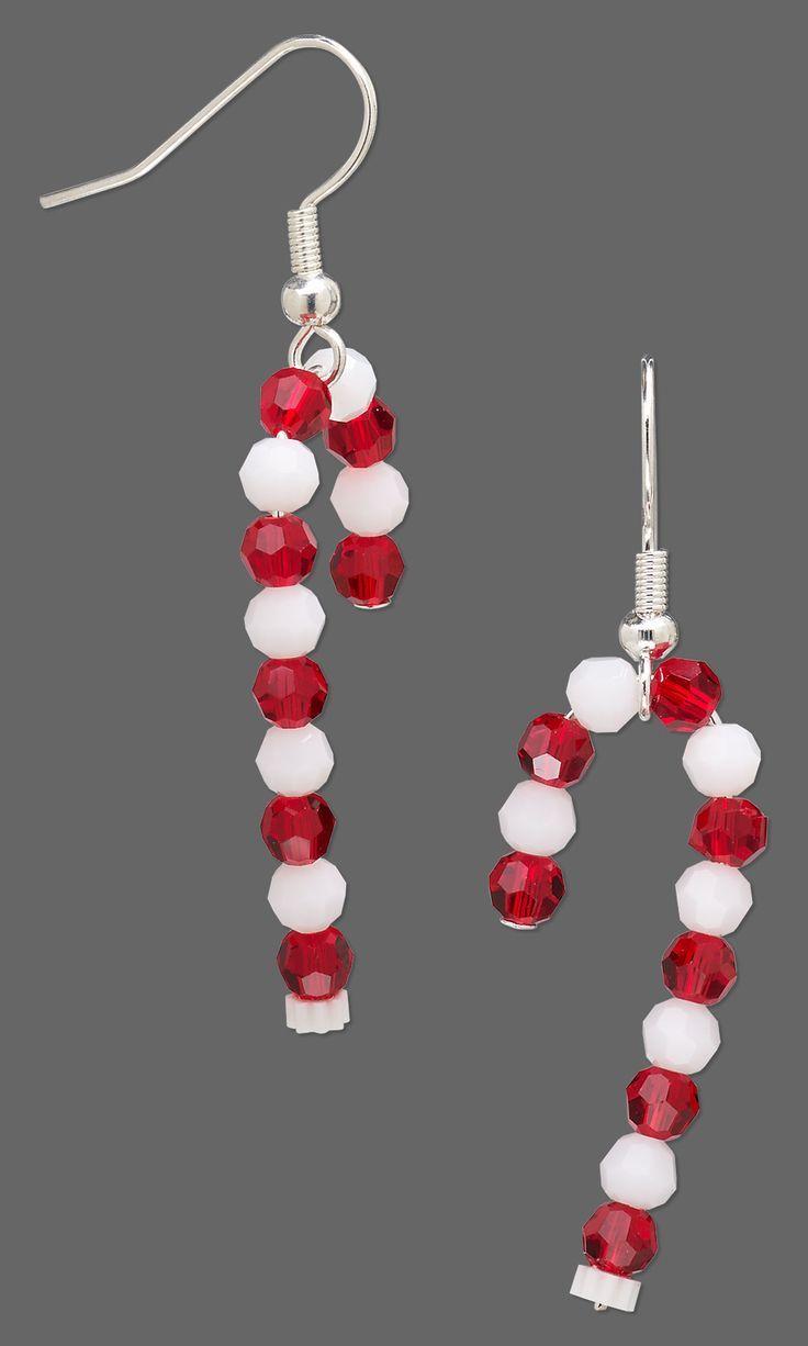 Schmuckdesign – Ohrringe mit Swarovski Kristall – …