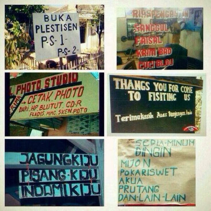 "Indonesian ""Inglis""... ^_^Y"