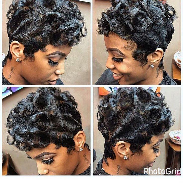 Yes to these waves  and curls Gorgeous @hairfetishshop  #voiceofhair . . . . #detroit #detroitvseverybody #detroitstylist #pixiecut #pixies #pixie #fingerwaves #wavyhair #curlsforthegirls#licensedtocreate #curlyhair #curlsforthegirls #detroithair #shorthairstyles #shorthair #blackbeauty #modernsalon #blackgirlmagic #blackhair #btc #slayed #cutlife #beatthatface