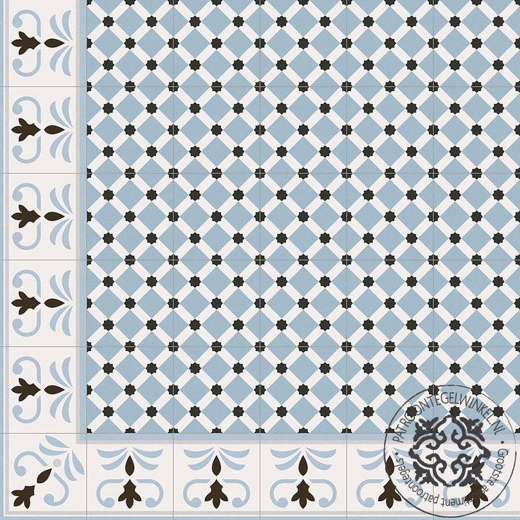 Keramische Patroontegel Palau Celeste | www.patroontegelwinkel.nl