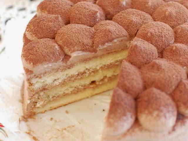 定番♪生チョコレートケーキの画像