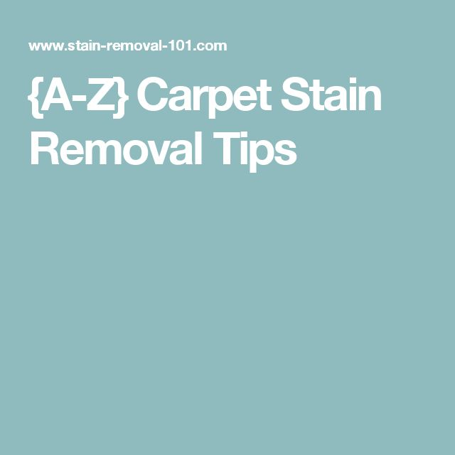 1000 ideas about stain removers on pinterest stains stain removal clothing and carpet - Tips cleaning carpets remove difficult stains ...