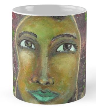 Sarah ~ Mugs available here:http://www.redbubble.com/people/elizafayle/works/13490384-goddess-sarah?p=mug #goddess #spiritual #feminine #divine