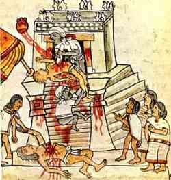 The aztec culture and religion consisted of human and animal sacrifice to the gods in exchange for good weather for crops and to advert natural disasters.Though human sacrifice sounds extremely outrageous it was common in many cultures during that time period. Human sacrifice was usually very ceremonial and only performed by priests. Other than whole sacrifice blood letting was done by many commoners to show their support. On this website you will learn all about why the sacrifices took…