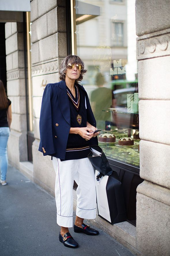 On the Street…Outside Marchesi, Milan
