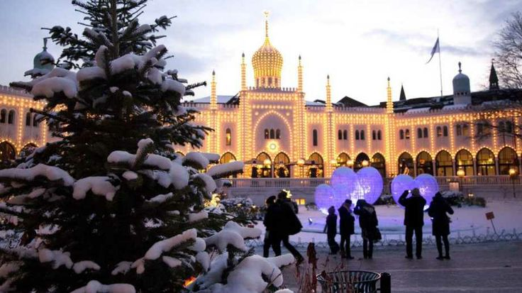 Jul i Tivoli, Christmas in Tivoli Garden, Cph, Denmark