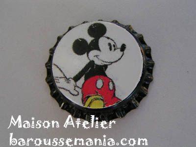 Bijou pendentif capsule mickey CAP36