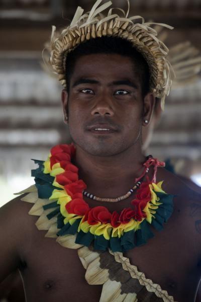 Oceania: Polynesian man, Kiribati