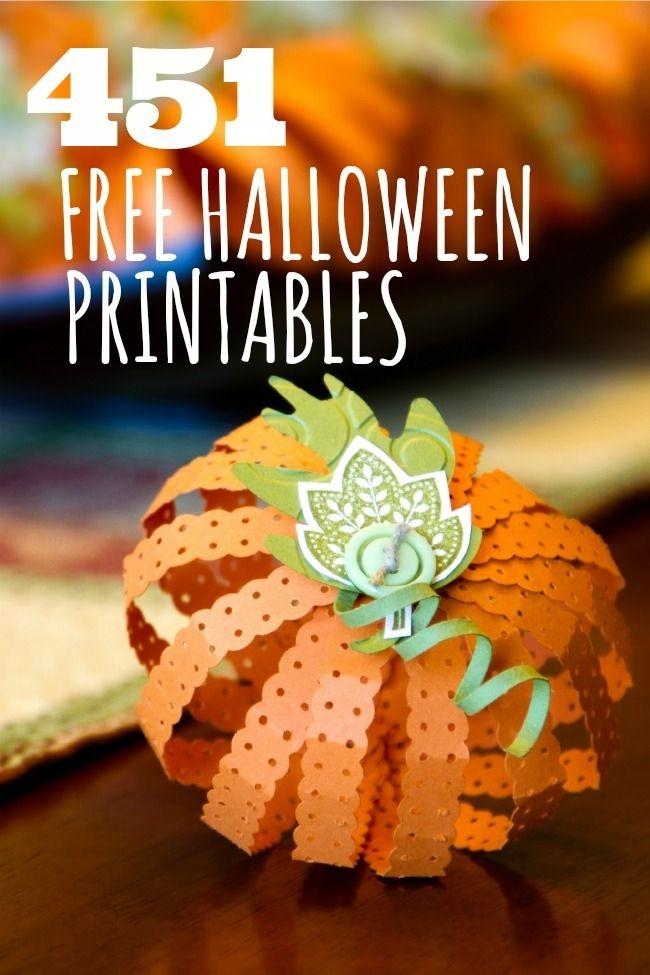 Free Halloween Printables www.spaceshipsandlaserbeams.com