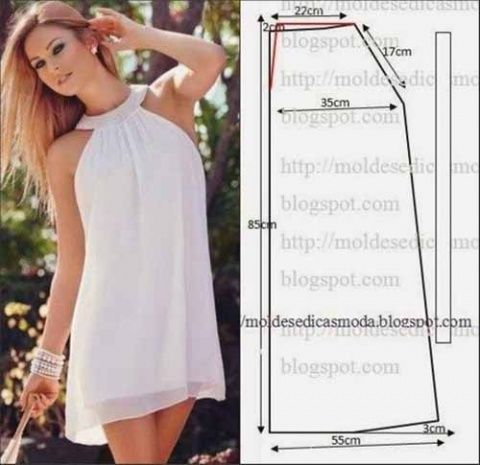 Modelo simple del verano ropa de mujer
