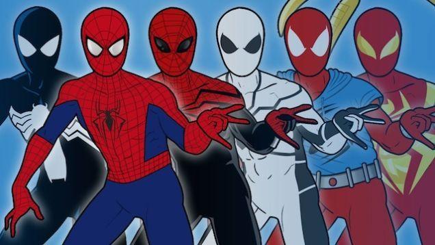 スパイダーマンのコスチュームの変遷(1962年から現在まで) | コタク・ジャパン.