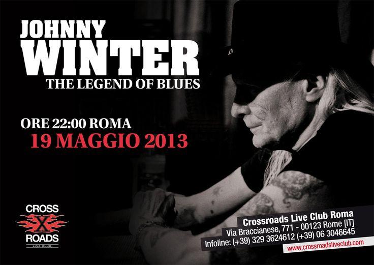 Johnny Winter al CrossRoads