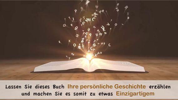 VIDEO - Wie wird Ihr Buch-Geschenk zu einem wahren Liebhaberstück? Indem Sie, in diesem personalisierten Buch, Ihre eigene Geschichte erzählen. Schauen Sie doch mal rein, in mein virtuelles Buchlädchen: www.mein-roman.eu     https://panel.socialpilot.co/site/video/8zX0zt8zgnzt41N1zr7zg8zm7zvnzf