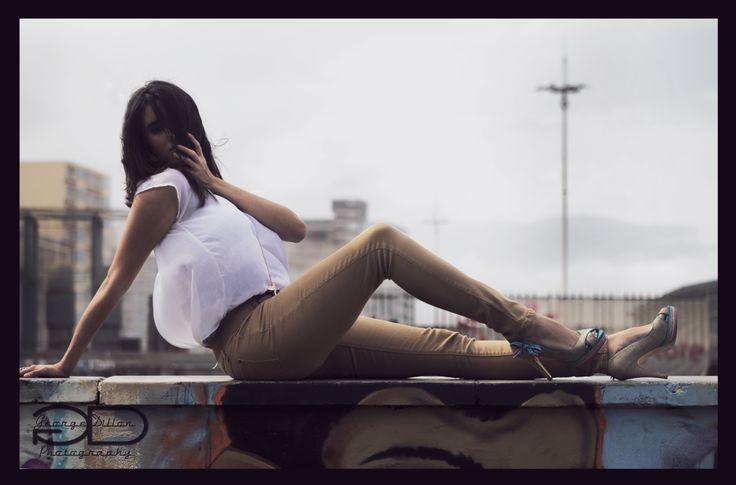 Fashion shoot at Durban Beach Front