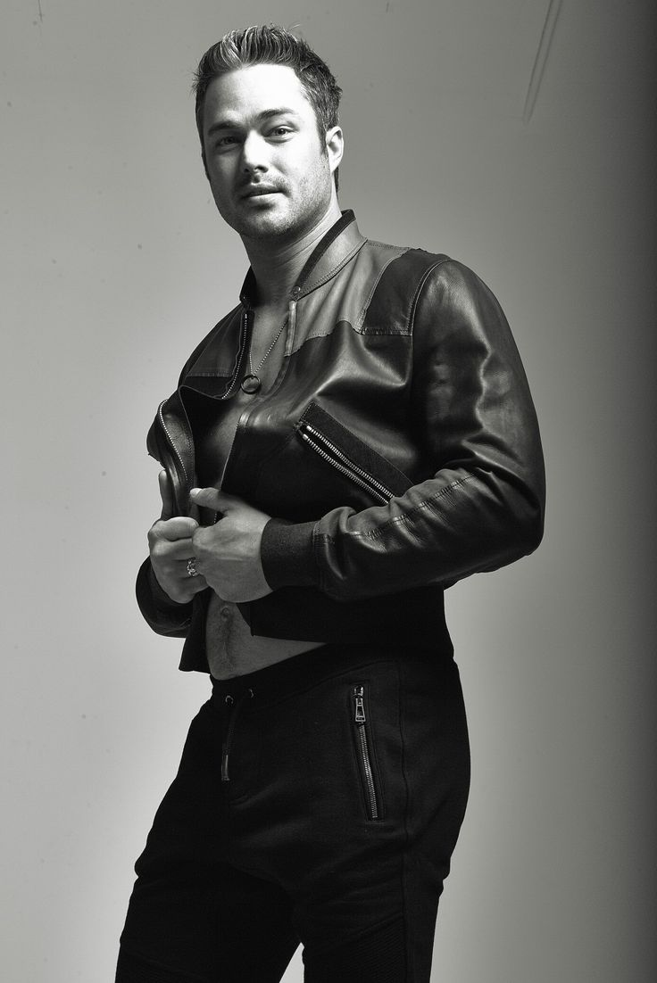Chicago Tribute Magazine-Taylor Kinney wearing Lanvin ...