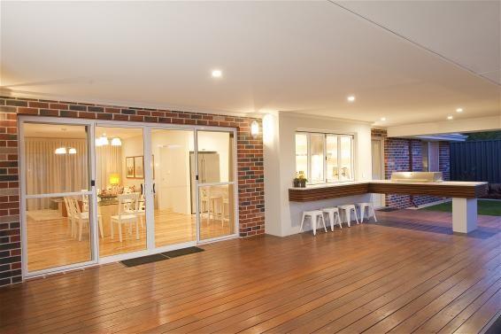 Outdoor BBQ Area - The Mosman - Estate Home Designer Western Australia - Estate Home Builders - Country Range - WA Country Builders