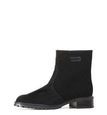 black waterproof Palmroth Original ankle boot