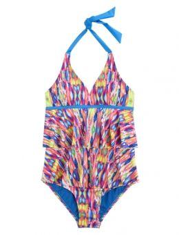 Tie Dye One Piece Swimsuit