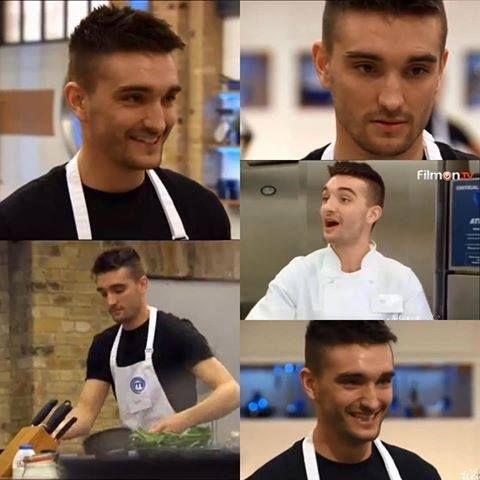 Tom on Celebrity MasterChef UK 2015 Season 10 Episode 7