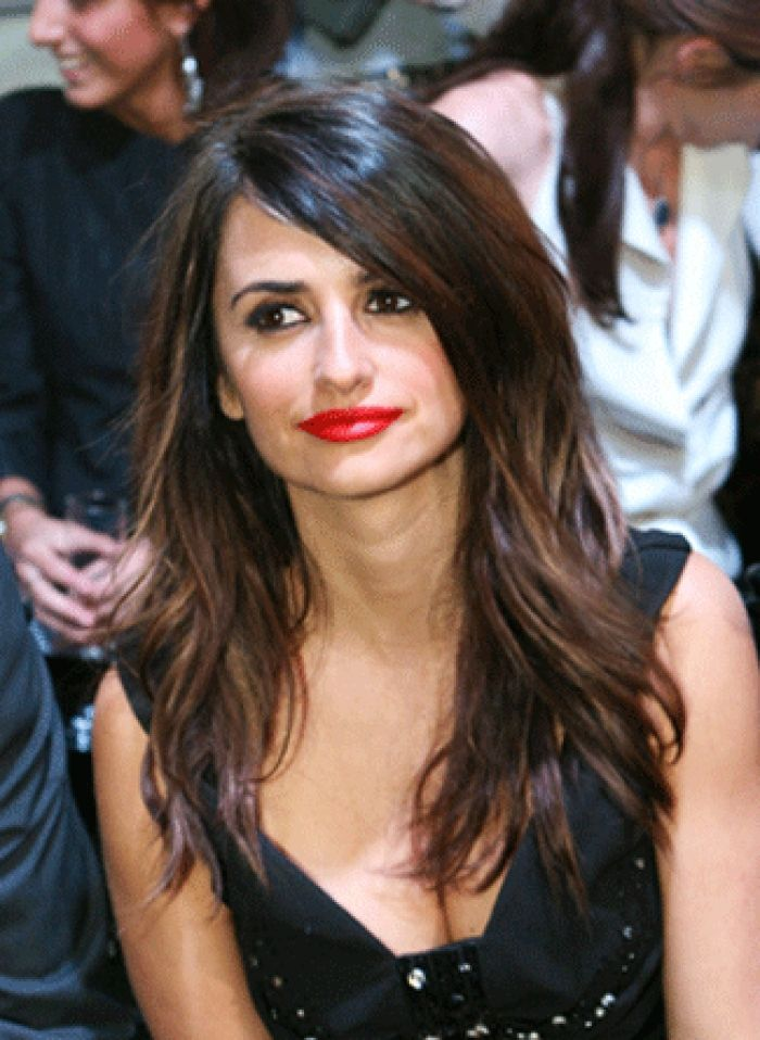hair styles long hair round face