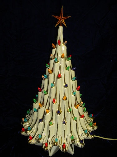 The 27 best images about ceramic christmas trees on Pinterest