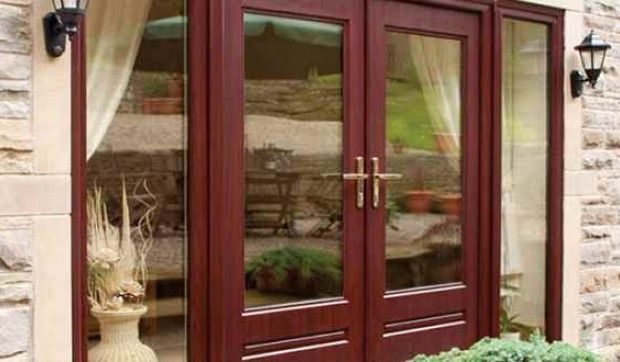 #UPVC #French #Doors give safety and security, and also add extra look to your home