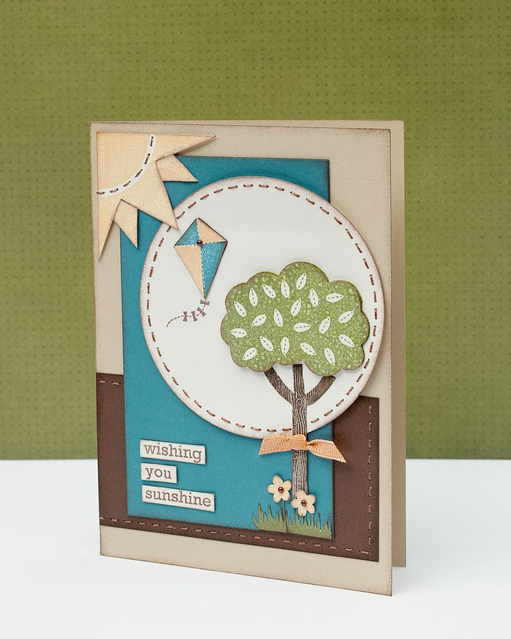 Summer card inspiration from #CTMH.