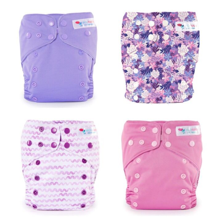 Secret Garden Collection   EcoNaps Designer Modern Cloth Nappies, hand styled in Byron Bay, Australia. Reusable,  Eco friendly Organic stylish baby diapers.