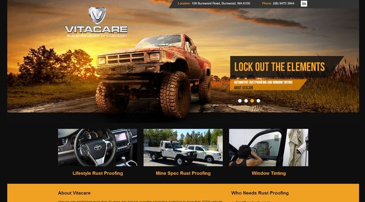 Vitacare was established more than 30 years ago and has provided automotive protection to more than 75000 vehicles throughout Western Australia