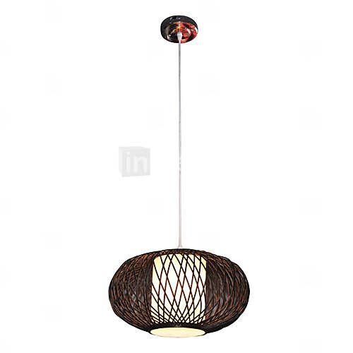 Lounge room nature inspired 1 light pendant light