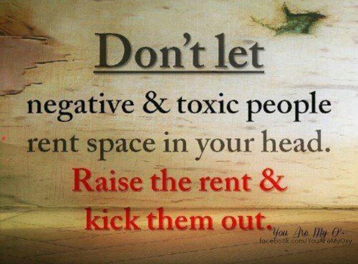 Kick Negativity To The Curb...