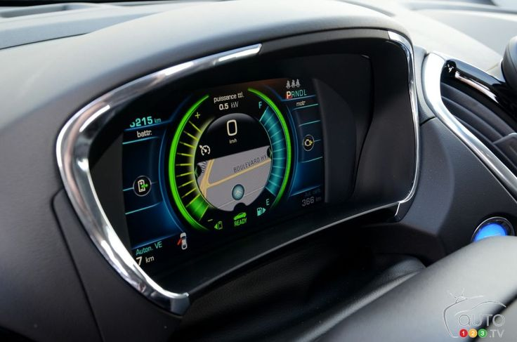 2016 #Chevrolet #Volt #Dashboard