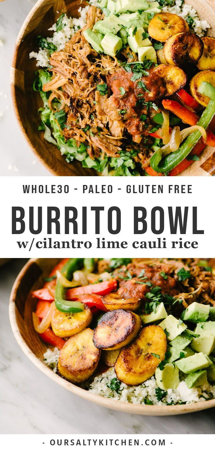 0e7a5531e4ac62d52df0fb88b5c7b4e5 You need this epic paleo burrito bowl for your Whole30! This is an easy, low car...