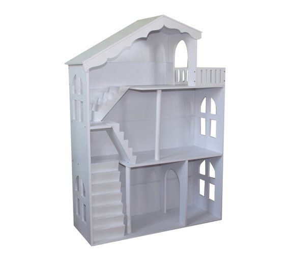 Buy Liberty House Toys Doll House Bookshelf Balcony - White at Argos.co.uk, visit Argos.co.uk to shop online for Children's toy boxes and storage, Children's furniture, Home and garden