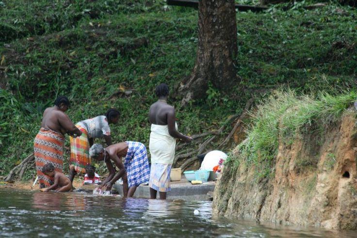 De rivier als wasmachine