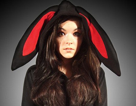 Bunny ears hoodie