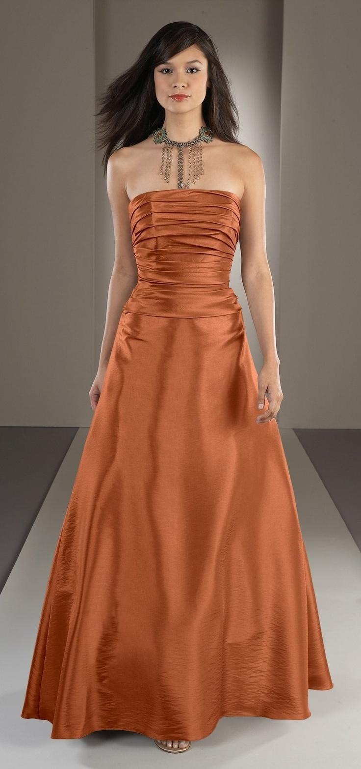 47 best cobre images on pinterest high fashion long dresses and copper kitchen colour wedding bridesmaid dressesbridesmaidscopper ombrellifo Images