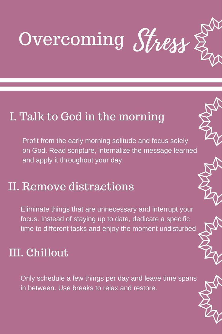How to overcome stress - Learn how to deal with uncertainty, how to overcome anxiety and feeling overwhelmed. Spend time with God in the morning   Remove distractions   Relax and chill out #God #Faith #Christ #Stress #Anxiety