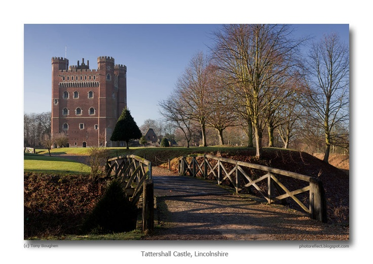 PhotoReflect: Tattershall Castle, Lincolnshire  This is a great picture of Tattershall Castle with a brief history on the blog, one of my favourite places to go with my 2 kids. For information about opening times & events got to the National Trust website http://www.nationaltrust.org.uk/tattershall-castle/